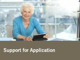 Support for Application
