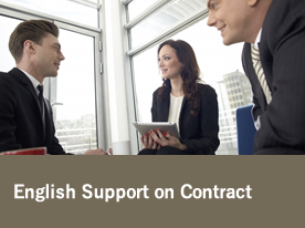 English Support on Contract